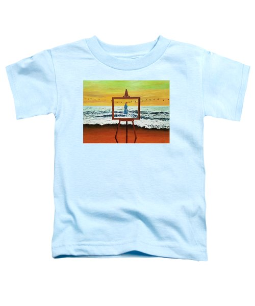 Pretty As A Picture Toddler T-Shirt