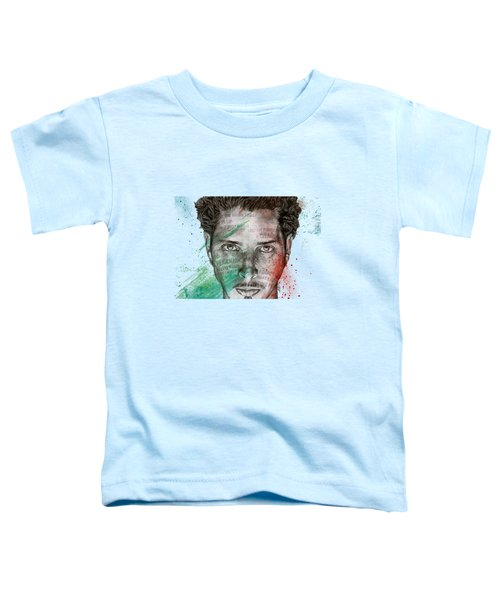 Pretty Noose - Tribute To  Chris Cornell Toddler T-Shirt by Marco Paludet