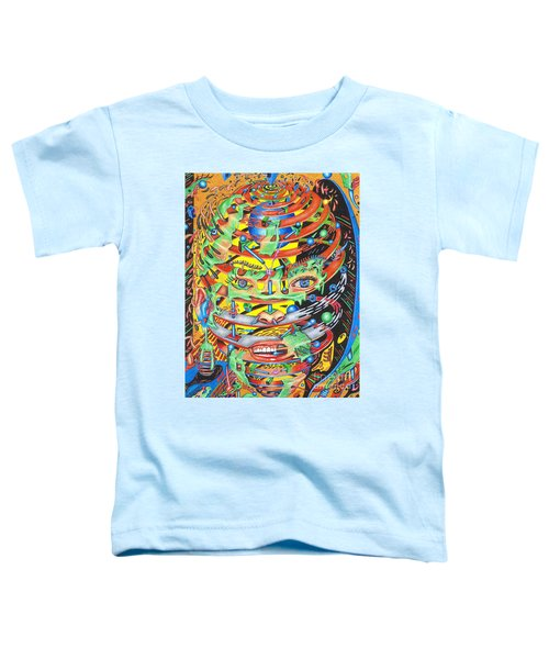 Primordial Inception Of Life At Daybreak Toddler T-Shirt