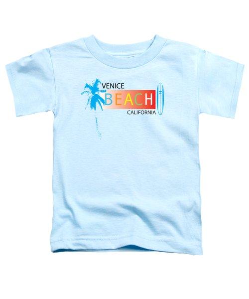 Venice Beach California T-shirts And More Toddler T-Shirt