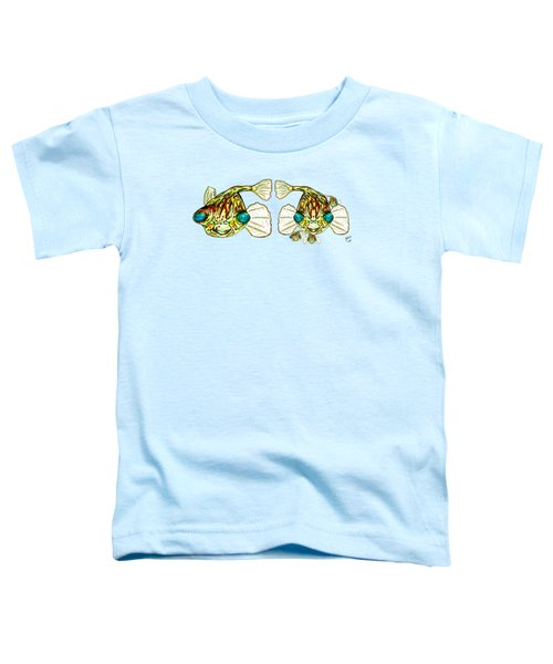 Puffer Fish Lary Loretta And Mini Puffs Toddler T-Shirt