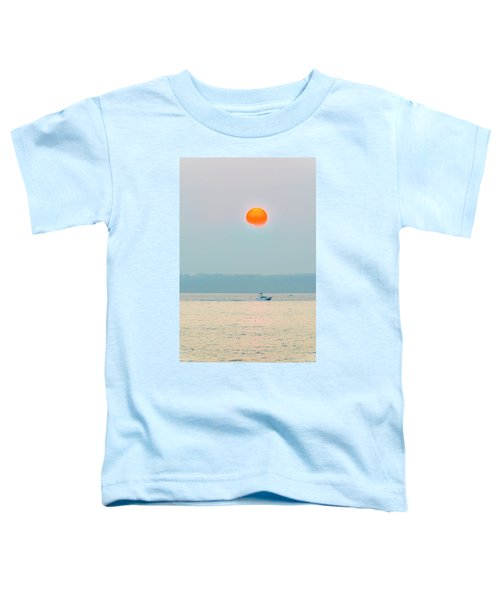 Puget Sound Under The Heavy Smoke Toddler T-Shirt