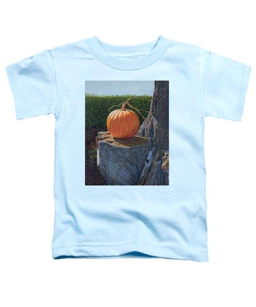 Pumpkin On A Dead Willow Toddler T-Shirt