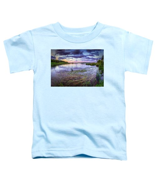 Purple Bay Toddler T-Shirt