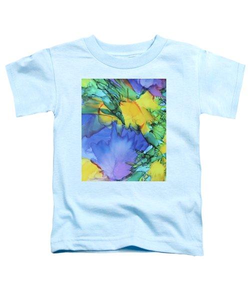 Purple Bird Of Paradise Toddler T-Shirt