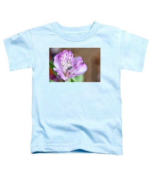 Purple Flower Toddler T-Shirt