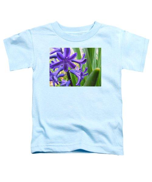 Purple Spring Toddler T-Shirt