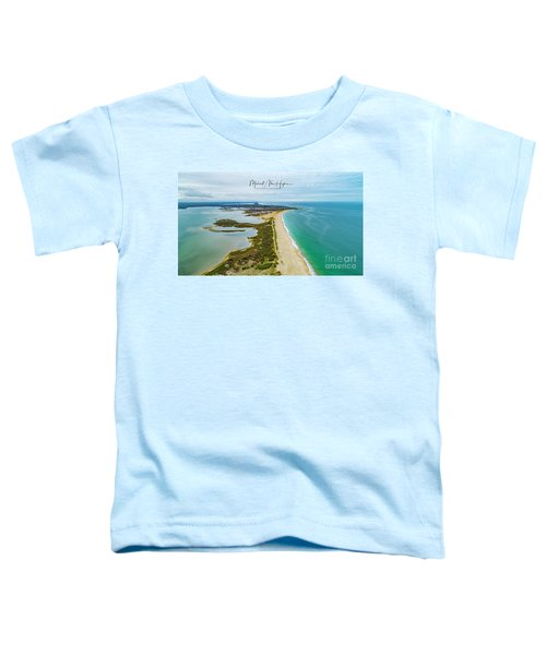 Quonochontaug Beach Toddler T-Shirt