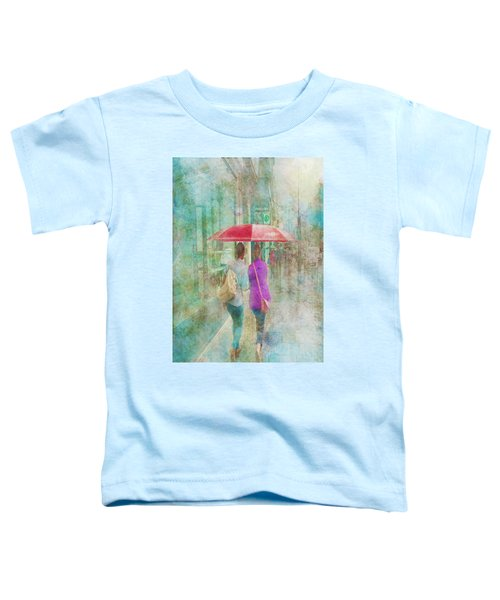Rainy In Paris 1 Toddler T-Shirt