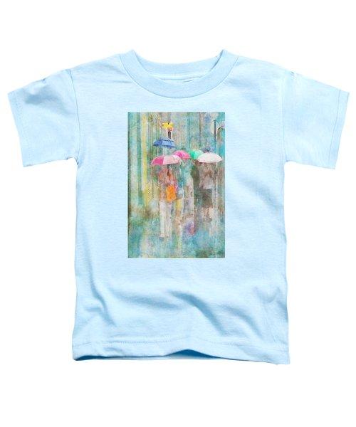 Rainy In Paris 2 Toddler T-Shirt
