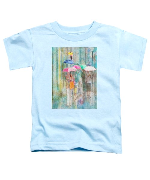 Rainy In Paris 2 Toddler T-Shirt