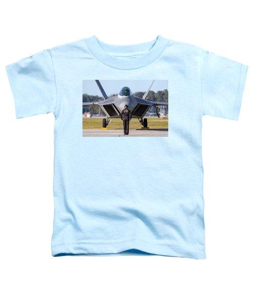 Raptor Handler II Toddler T-Shirt
