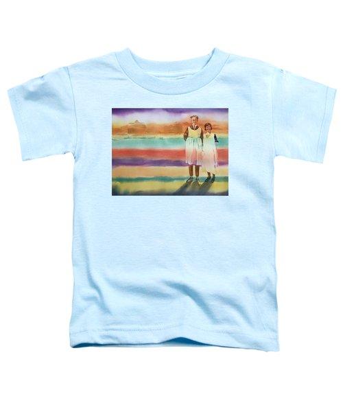 Real Men Wear Aprons Toddler T-Shirt
