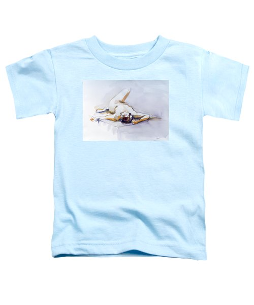 Reclining Study 6 Toddler T-Shirt