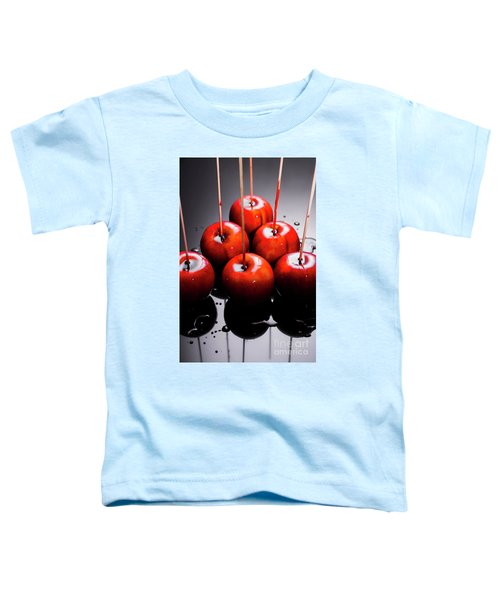 Red Apples With Caramel  Toddler T-Shirt