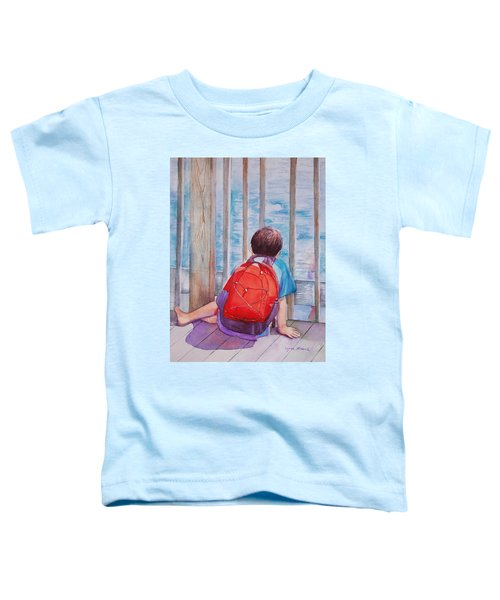Red Backpack Toddler T-Shirt