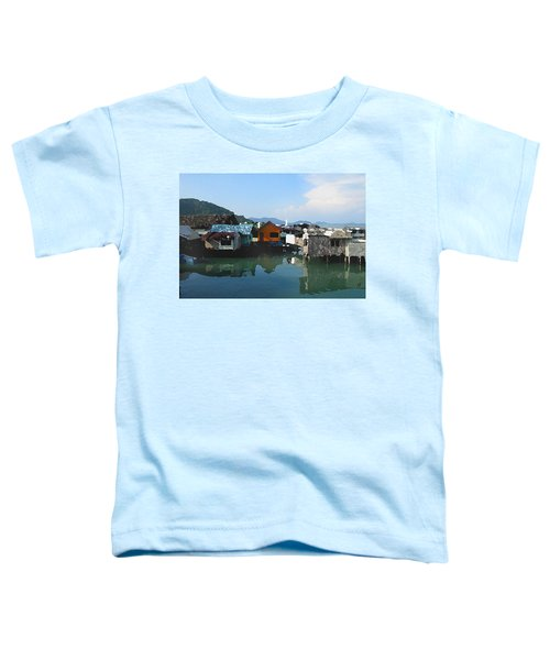 Red House On The Water Toddler T-Shirt