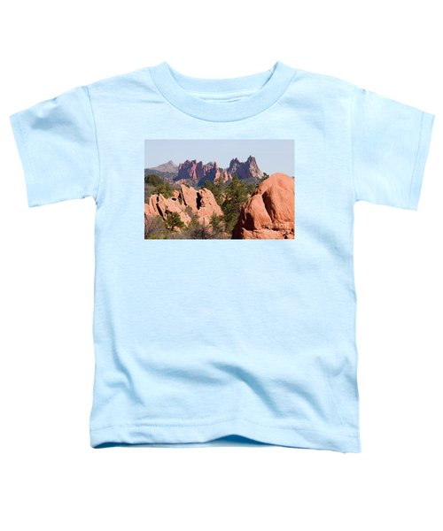 Red Rock Canyon Open Space Park And Garden Of The Gods Toddler T-Shirt