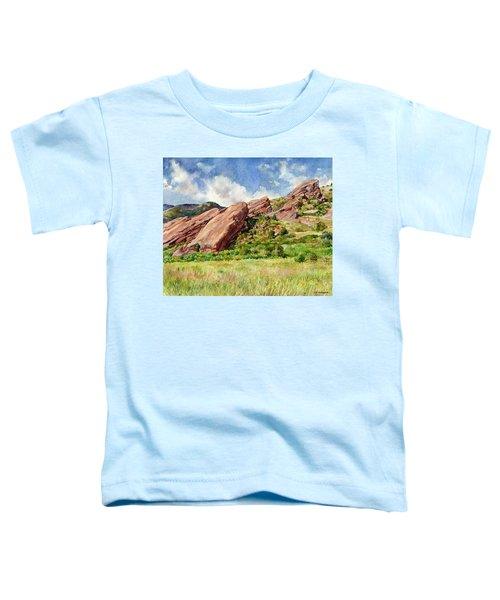 Red Rocks Amphitheatre Toddler T-Shirt