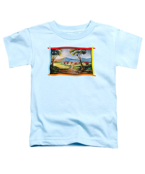 Red Roofs Toddler T-Shirt