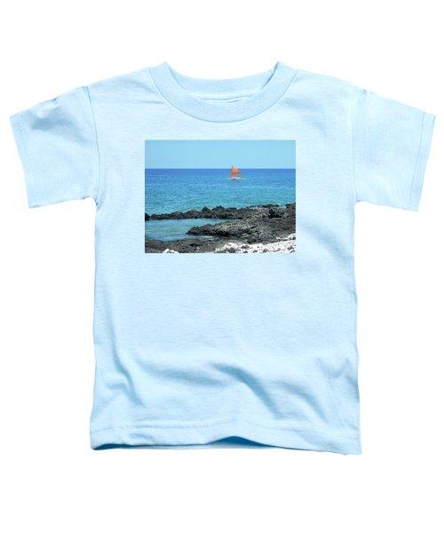 Red Sail Toddler T-Shirt