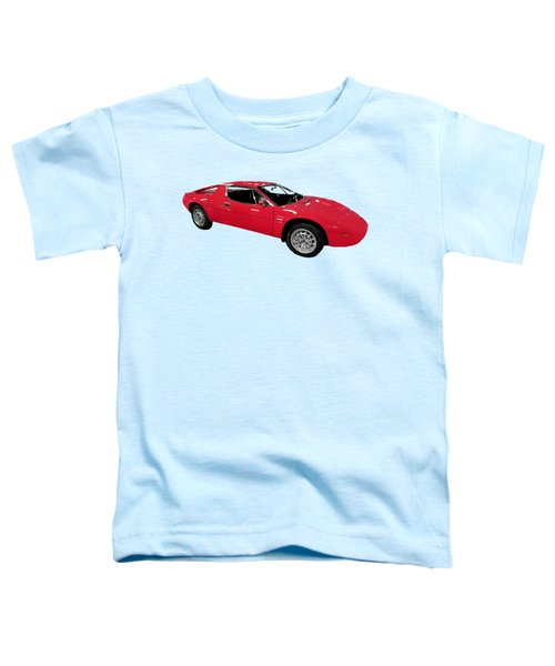 Red Sport Car Art Toddler T-Shirt