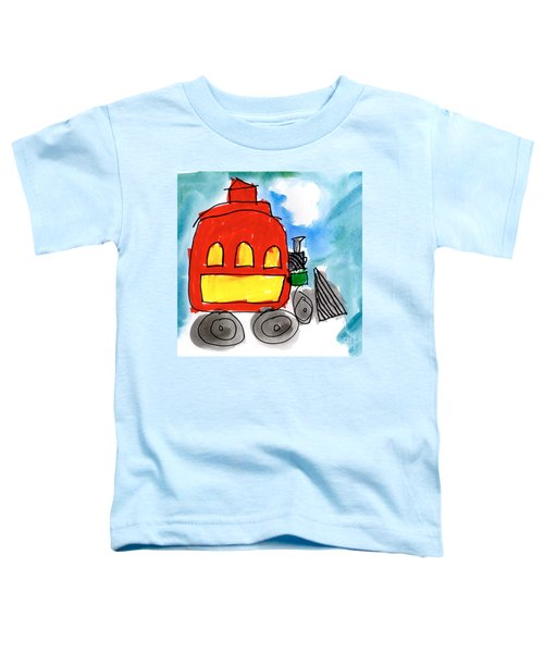 Red Train Toddler T-Shirt