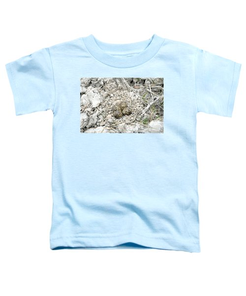 Red-wattled Lapwing Nest Toddler T-Shirt