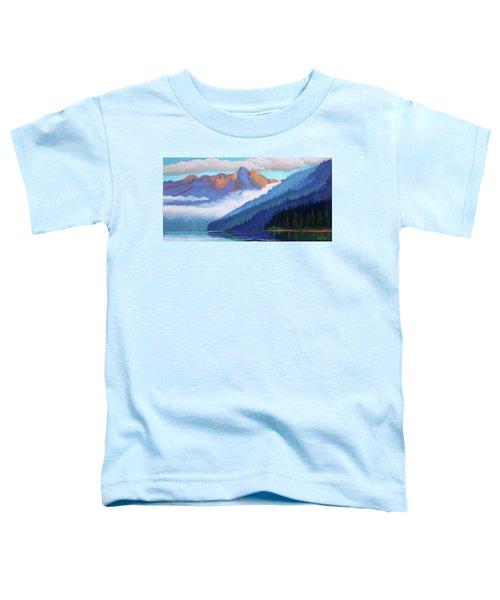 Redfish Lake - Low Clouds Toddler T-Shirt