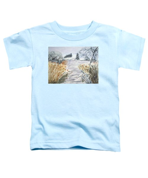 Reeds On The Riverbank No.2 Toddler T-Shirt