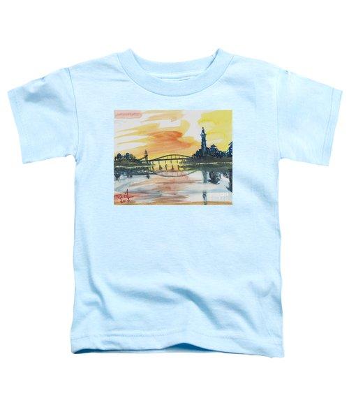 Reflecting Bridge Toddler T-Shirt