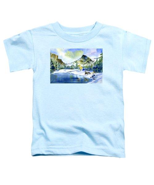 Reflecting Yosemite Toddler T-Shirt