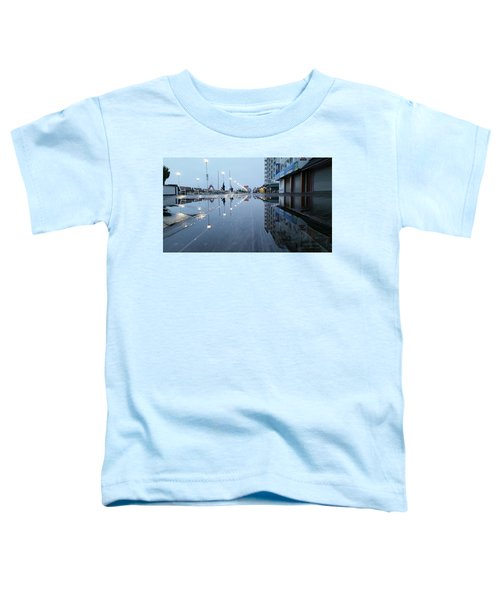Reflections Of The Boardwalk Toddler T-Shirt