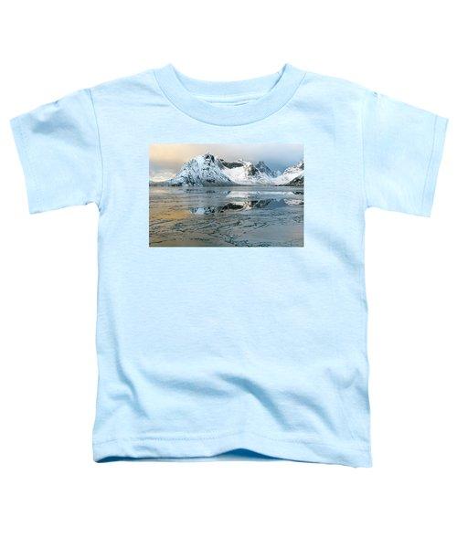 Reine, Lofoten 5 Toddler T-Shirt by Dubi Roman