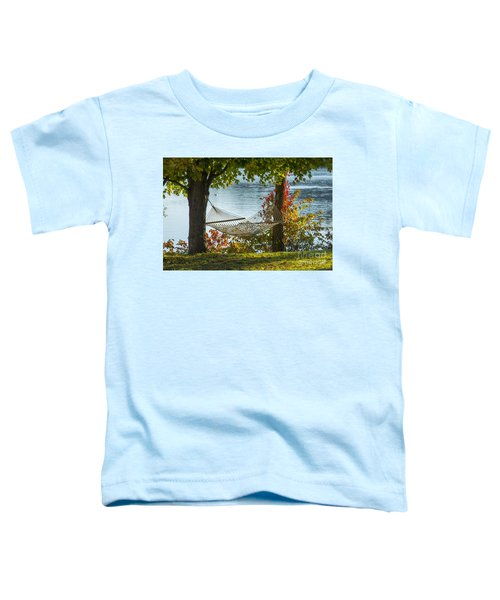 Relax By The Water Toddler T-Shirt
