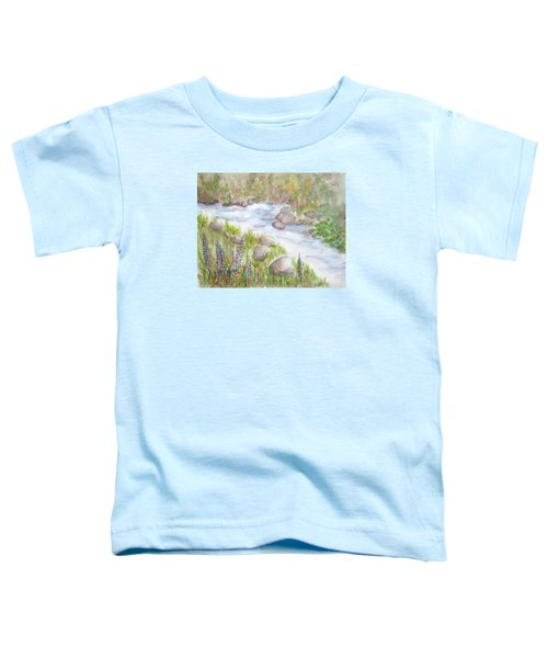 Rest By My Waters Toddler T-Shirt