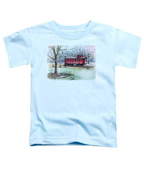 Retired Red Caboose Toddler T-Shirt