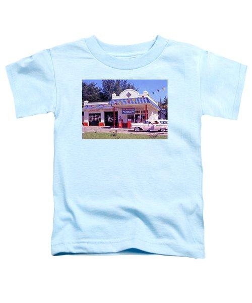 Retro Gas Station Toddler T-Shirt