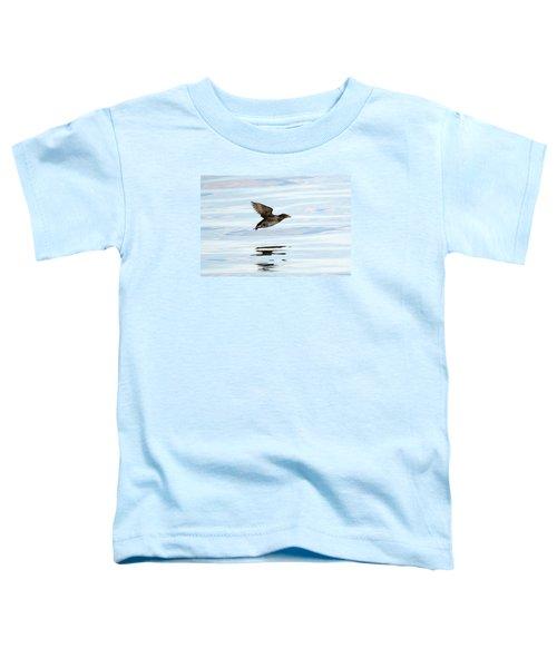 Rhinoceros Auklet Reflection Toddler T-Shirt by Mike Dawson