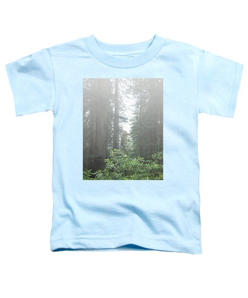 Rhododendrons In The Fog Toddler T-Shirt