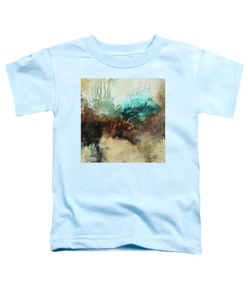 Rich Earth Tones Abstract Not For The Faint Of Heart Toddler T-Shirt