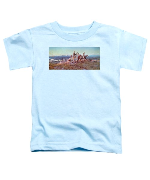 Riders Of The Open Range Toddler T-Shirt
