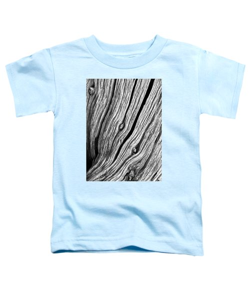 Toddler T-Shirt featuring the photograph Ridges - Bw by Werner Padarin