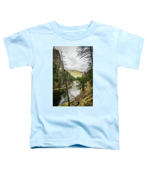 River In The Canyon Toddler T-Shirt