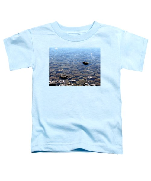 Rocks In Calm Waters Toddler T-Shirt