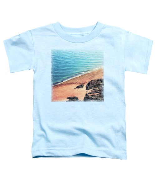 Rocky Beach Aerial Toddler T-Shirt