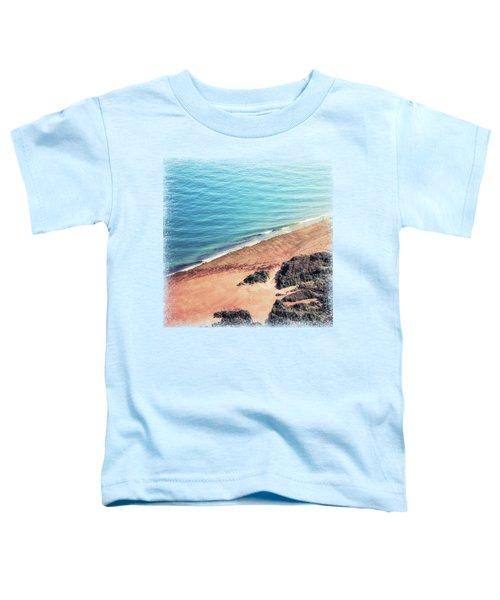 Rocky Beach Aerial Toddler T-Shirt