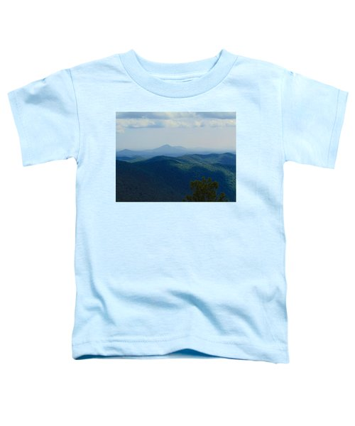 Rocky Mountain Overlook On The At Toddler T-Shirt