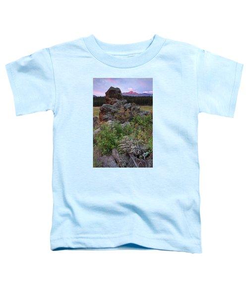 Rocky Mountain Sunrise Toddler T-Shirt