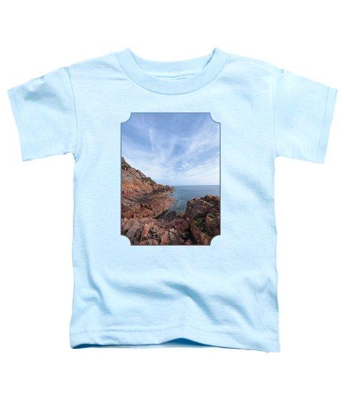 Rocky Ocean Inlet - Jersey Toddler T-Shirt